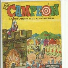 Giornalini: EL CAMPEON Nº 1. Lote 35188416