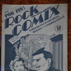 Tebeos: ROCK COMIX – NUMERO 1 . Lote 35623332