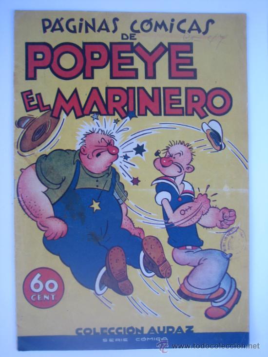 POPEYE Nº 1 (COLECCION AUDAZ). ORIGINAL. H. AMERICANA. (Tebeos y Cómics - Números 1)