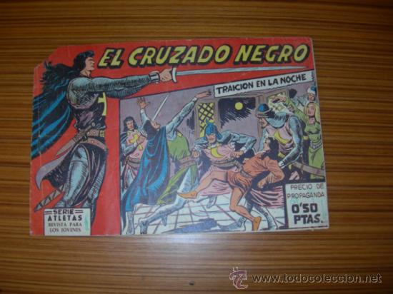 EL CRUZADO NEGRO Nº 1 DE MAGA (Tebeos y Cómics - Números 1)
