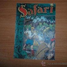 Tebeos: SAFARI Nº 1 - EDITORIAL RICART 1953 ORIGINAL. Lote 37684996