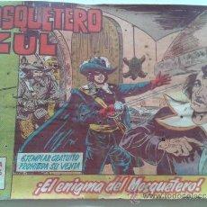 Tebeos: ORIGINAL 1962- Nº 1 EL MOSQUETERO AZUL EN EL ENIGMA DEL MOSQUETERO-. Lote 37979440