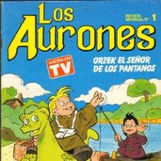 Tebeos: TEBEOS-COMICS CANDY - LOS AURONES - Nº 1 - MULTILIBRO *AA99. Lote 41446009