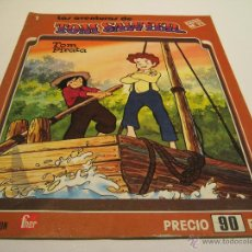 Tebeos: TEBEO LAS AVENTURAS DE TOM SAWYER Nº 1 TOM PIRATA FHER EDITORIAL. Lote 42021601