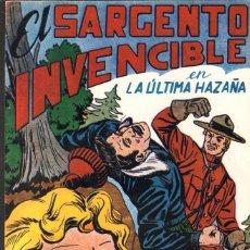 Tebeos: TEBEOS-COMICS CANDY - EL SARGENTO INVENCIBLE - Nº 12 ULTIMO - ED. MAGA - 1951 *DD99. Lote 42287734