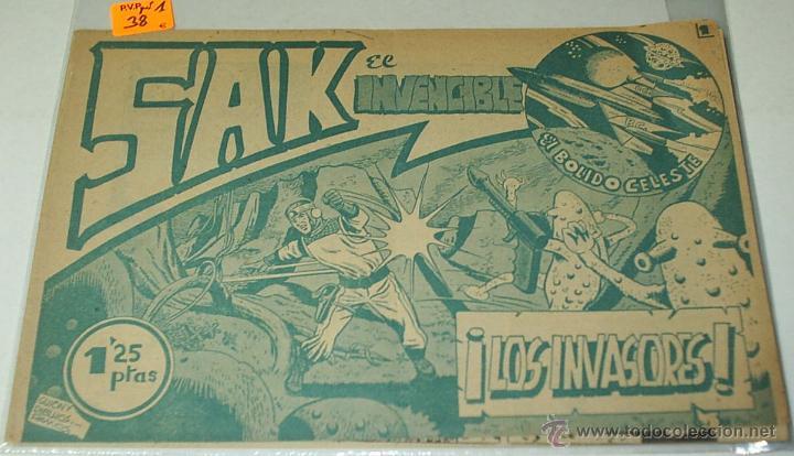 SAK EL INVENCIBLE Nº 1 - SIMBOLO 1954 - ORIGINAL - LEER (Tebeos y Cómics - Números 1)