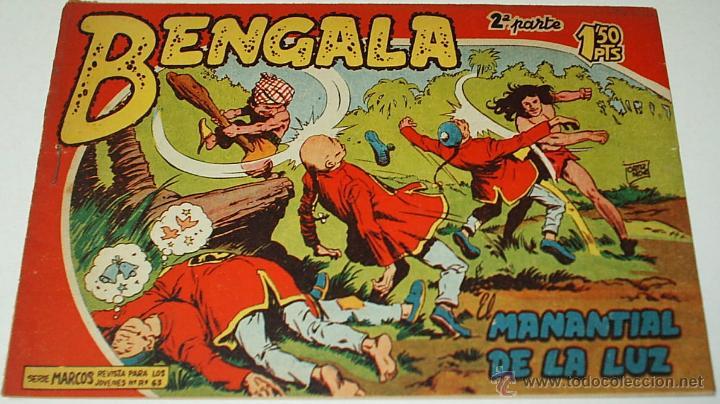 BENGALA 2ª - Nº 1 - MAGA - ORIGINAL- LEER DESCR. (Tebeos y Cómics - Números 1)