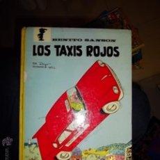 Tebeos: BENITO SANSON Nº 1 LOS TAXIS ROJOS ARGOS 1970 PEYO. Lote 43030130