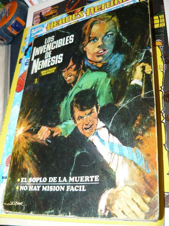 TEBEOS-COMICS CANDY - LOS INVENCIBLES DE NEMESIS 1 - IBEROMUNDIAL - 1969 - ETIENNE *DD99 (Tebeos y Cómics - Números 1)