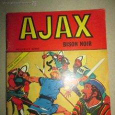 Tebeos: AJAX (EL JABATO) BISON NOIR Nº 1 AÑO 1970 CON 100 PAGINAS EDICION FRANCESA DE EL JABATO DE DARNIS. Lote 43111898