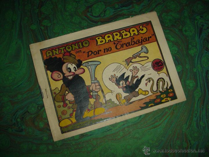 ANTONIO BARBAS (H. AMERICANA) ... Nº 1 (Tebeos y Cómics - Números 1)