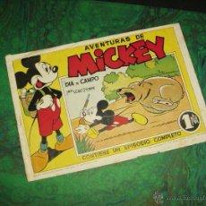 Tebeos: AVENTURAS DE MICKEY (BRUGUERA - 1945) ... Nº 1. Lote 43615817