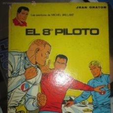 Tebeos: LAS AVENTURAS DE MICHEL VAILLANT Nº 1 - EL OCTAVO PILOTO - JEAN GRATON. Lote 44032631