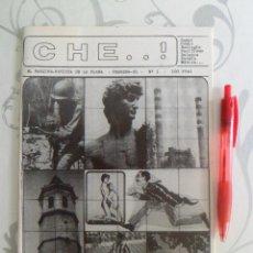 Tebeos: CHE --- NUMERO 1 ---- FEBRERO 1985 ---- PROBABLEMENTE NUMERO UNICO. Lote 44247936
