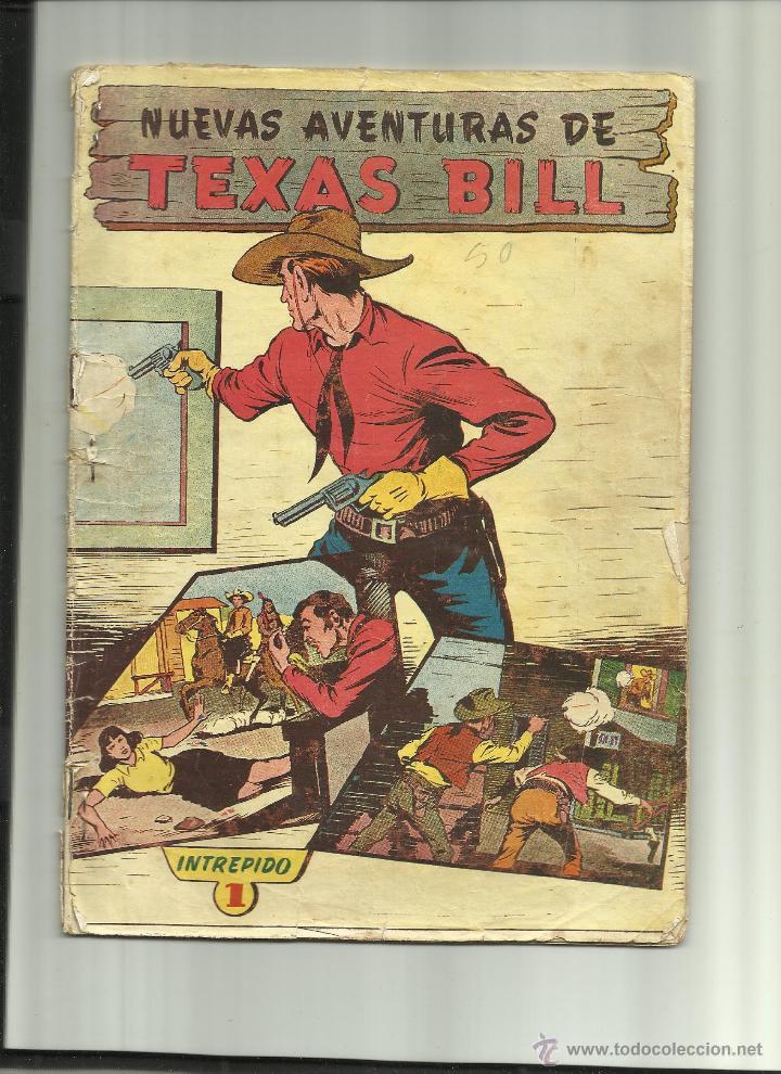 TEXAS BILL Nº 1 (Tebeos y Cómics - Números 1)