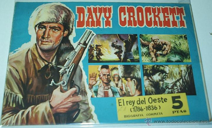 CUADERNOS LEJANO OESTE Nº 1 - DAVY CROCKETT- ORIGINAL DE EDIT. GESTION - IMPORTANTE LEER TODO (Tebeos y Cómics - Números 1)