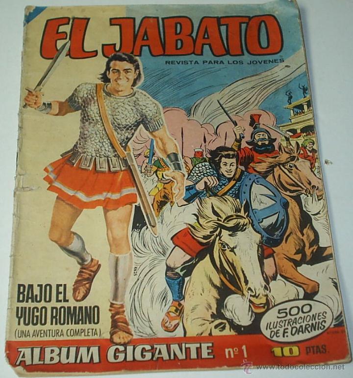 JABATO ALBUM GIGANTE Nº 1-- ORIGINAL - LEER (Tebeos y Cómics - Números 1)