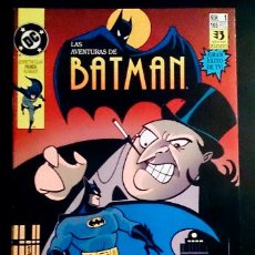 BDs: LAS AVENTURAS DE BATMAN Nº1 / DC / ZINCO 1992. Lote 267711029