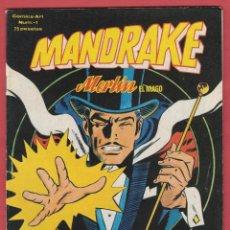 Tebeos: MANDRAKE-MERLÍN EL MAGO Nº1-COPYRIGHT 1980-ED.VERTICE-EDITA Y DISTRIBUYE J.PERALES-PAG42*. Lote 47156956