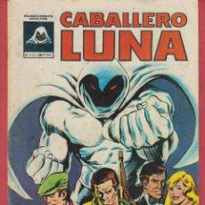 Tebeos: CABALLERO LUNA-EL MACABRO CABALLERO LUNA Nº1-COPYRIGHT 1981-ED.VERTICE IMP POR BAGUÑA HERMANOS,S.L.*. Lote 47157545
