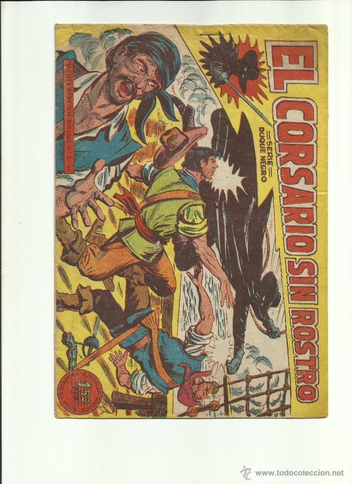EL CORSARIO SIN ROSTRO Nº 1 (Tebeos y Cómics - Números 1)