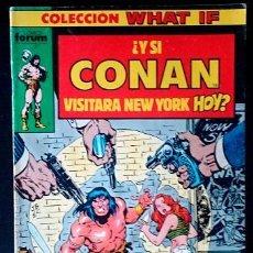 Tebeos: COLECCIÓN WHAT IF... Nº 1 / FORUM 1990 ( ROY THOMAS / JOHN BUSCEMA ). Lote 49542132