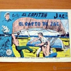 Tebeos: EL CAPITÁN JAC - Nº 1 EL RAPTO DE JAC - EDITORIAL MONZU 1961. Lote 50179873