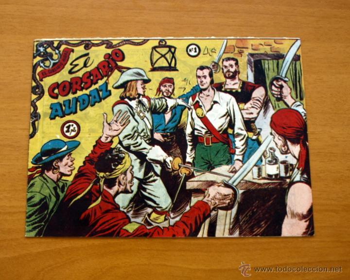 EL CORSARIO AUDAZ DE 1 PTA. - Nº 1 EDITORIAL RICART 1955 (Tebeos y Cómics - Números 1)