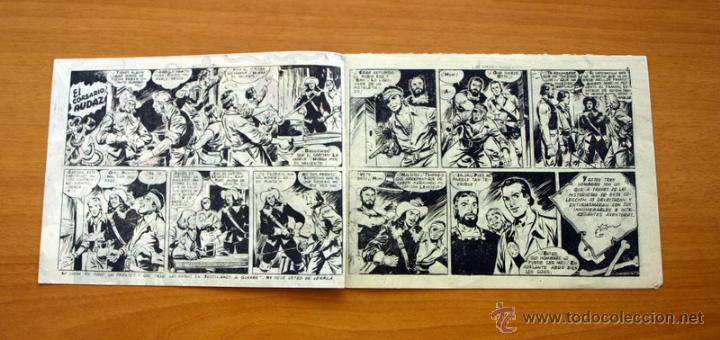 Tebeos: El Corsario audaz de 1 pta. - Nº 1 Editorial Ricart 1955 - Foto 2 - 50180019