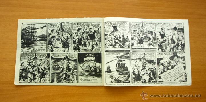 Tebeos: El Corsario audaz de 1 pta. - Nº 1 Editorial Ricart 1955 - Foto 4 - 50180019