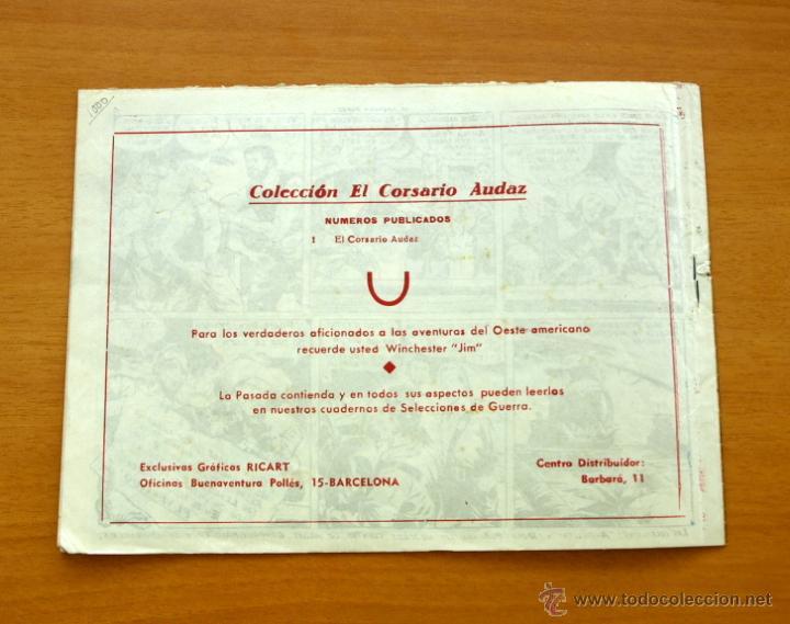 Tebeos: El Corsario audaz de 1 pta. - Nº 1 Editorial Ricart 1955 - Foto 5 - 50180019