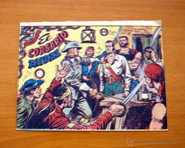 EL CORSARIO AUDAZ DE 2 PTAS. - Nº 1 EDITORIAL RICART 1963 (Tebeos y Cómics - Números 1)