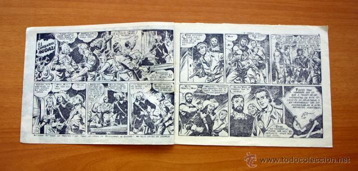 Tebeos: El Corsario audaz de 2 ptas. - Nº 1 Editorial Ricart 1963 - Foto 2 - 50180186