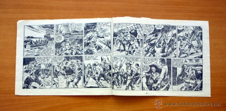 Tebeos: El Corsario audaz de 2 ptas. - Nº 1 Editorial Ricart 1963 - Foto 3 - 50180186