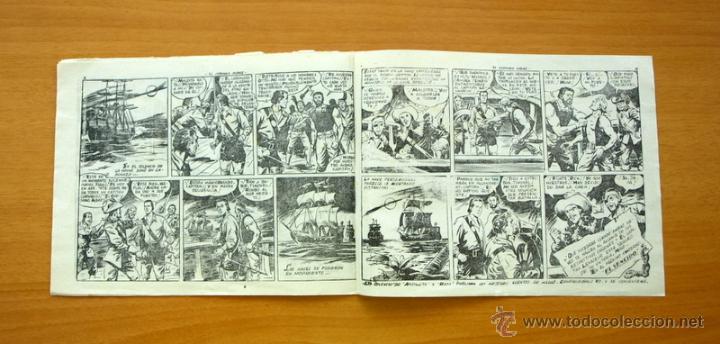 Tebeos: El Corsario audaz de 2 ptas. - Nº 1 Editorial Ricart 1963 - Foto 4 - 50180186