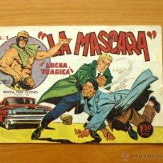 Tebeos: LA MASCARA - Nº 1 LUCHA TRAGICA - EDITORIALES CREO 1961. Lote 50315451