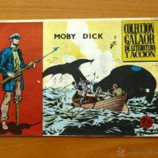 Tebeos: MOBY DICK´- Nº 1 - EDICIONES GALAOR 1965. Lote 50317183