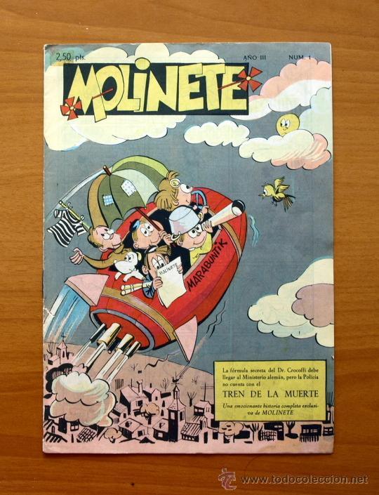 MOLINETE´- Nº 1 AÑO III - 1958 (Tebeos y Cómics - Números 1)
