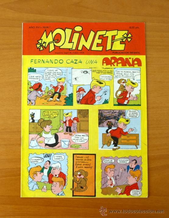 MOLINETE´- Nº 1 AÑO XVI - 1971 (Tebeos y Cómics - Números 1)
