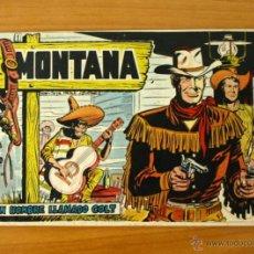 Tebeos: MONTANA - Nº 1 UN HOMBRE LLAMADO COLT - EDITORIAL ROLLAN 1961. Lote 50319261