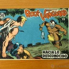 Tebeos: ROCK VANGUARD - Nº 1 HACIA LO DESCONOCIDO - EDITORIAL ROLLAN 1961. Lote 50330279