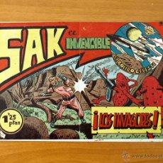 Tebeos: SAK EL INVENCIBLE - Nº 1 LOS INVASORES - EDITORIAL SIMBOLO 1954. Lote 50330845