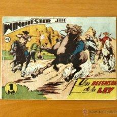 Tebeos: WINCHESTER JIM - Nº 1 UN DEFENSOR DE LA LEY - EDITORIAL RICART 1955. Lote 50331400