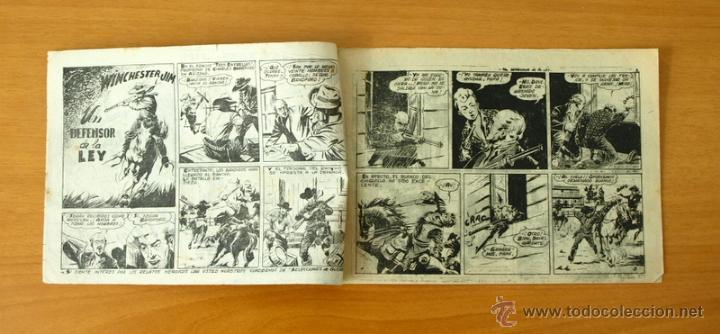 Tebeos: Winchester Jim - Nº 1 Un defensor de la ley - Editorial Ricart 1955 - Foto 2 - 50331400