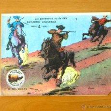 Tebeos: WINCHESTER JIM - Nº 1 UN DEFENSOR DE LA LEY - CONJURA SINIESTRA - EDITORIAL RICART 1963. Lote 50331474