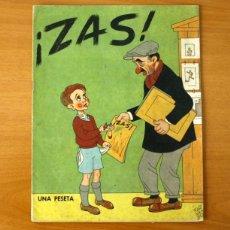 Tebeos: ZAS - Nº 1 - EDITORIAL A.A. CATÓLICA 1945. Lote 50331745