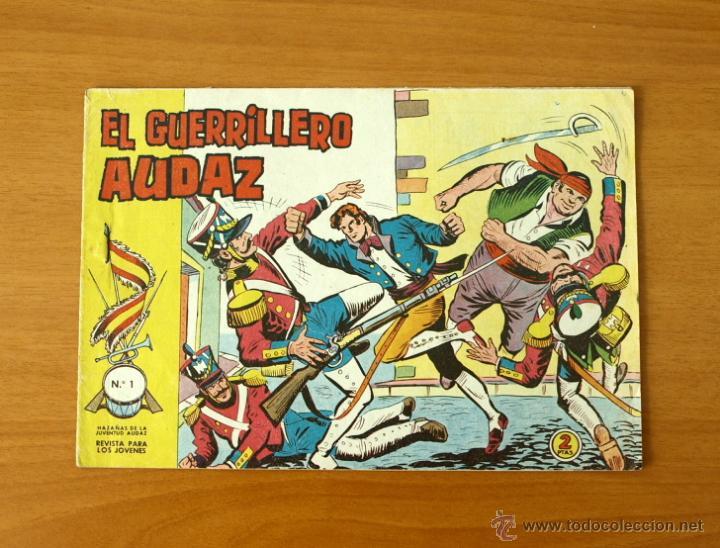 EL GUERRERO AUDAZ - Nº 1 - EDITORIAL VALENCIANA 1962 (Tebeos y Cómics - Números 1)