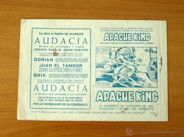 Tebeos: El guerrero audaz - Nº 1 - Editorial Valenciana 1962 - Foto 5 - 50332250
