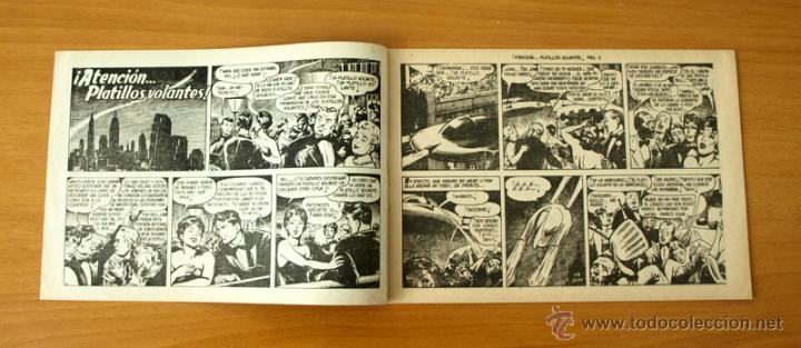 Tebeos: Fredy Barton el audaz - Nº 1 Atención... Platillos volantes - Editorial Valenciana 1960 - Foto 2 - 50332499