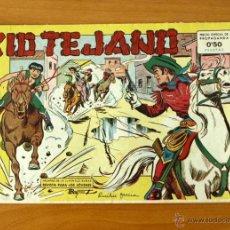 Tebeos: KID TEJANO - Nº 1 - EDITORIAL VALENCIANA 1961. Lote 50332624
